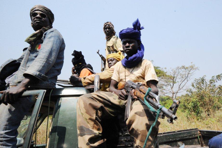 «Les éléments Séléka, dont le nombre estimé à... (PHOTO SIA KAMBOU, ARCHIVES AFP)