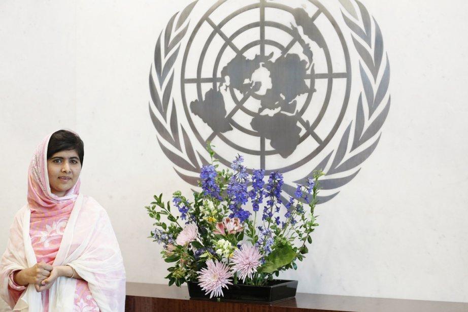 La jeune Malala, qui a livré vendredi dernier... (PHOTO BRENDAN MCDERMID, ARCHIVES REUTERS)