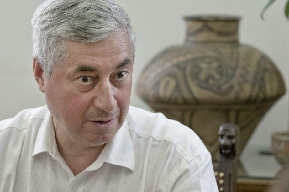 Ernest Oberlander, directeur du Musée national d'histoire de... (Photo: AFP)