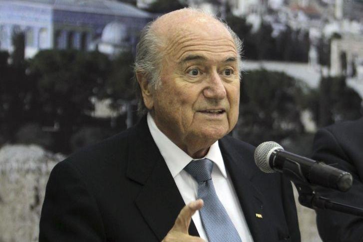 Le président de la FIFA Sepp Blatter aurait-il... (Photo AFP)