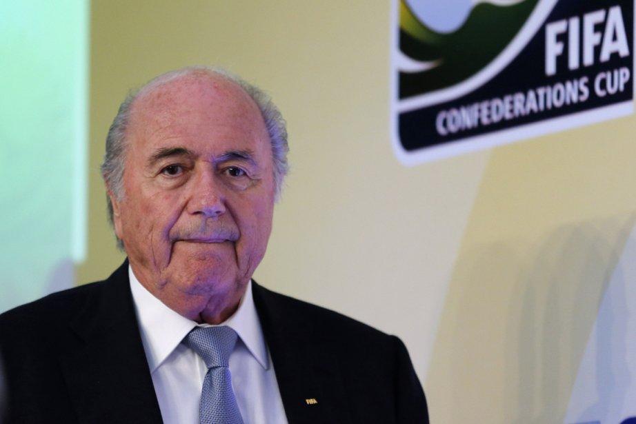 Sepp Blatter... (PHOTO SERGIO MORAES, REUTERS)