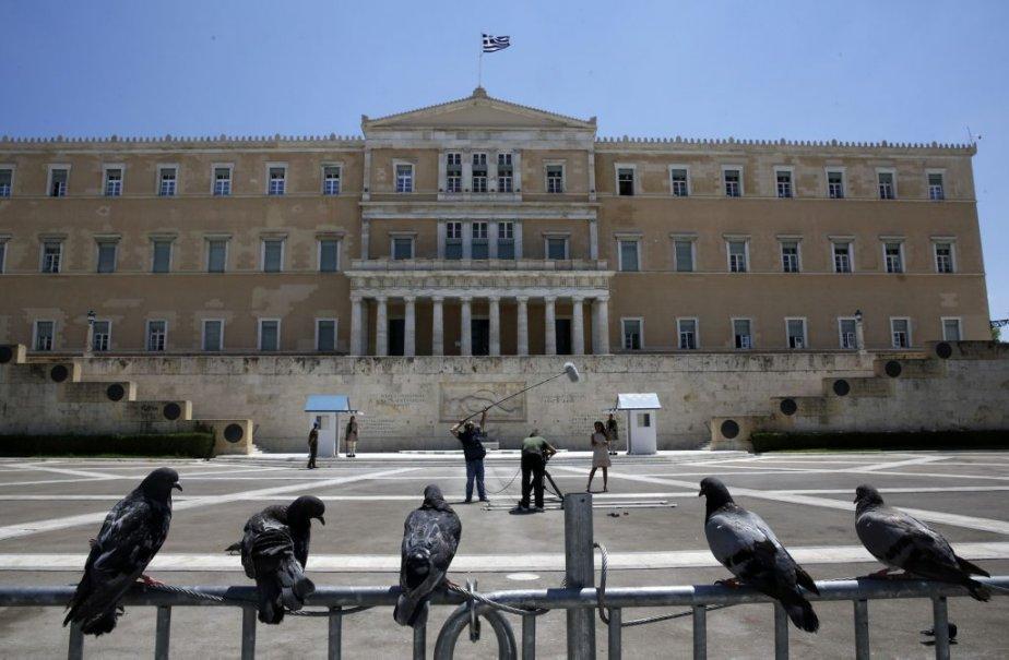 Athènes s'est transformée en camp retranché pour la... (Photo Yannis Behrakis, Reuters)