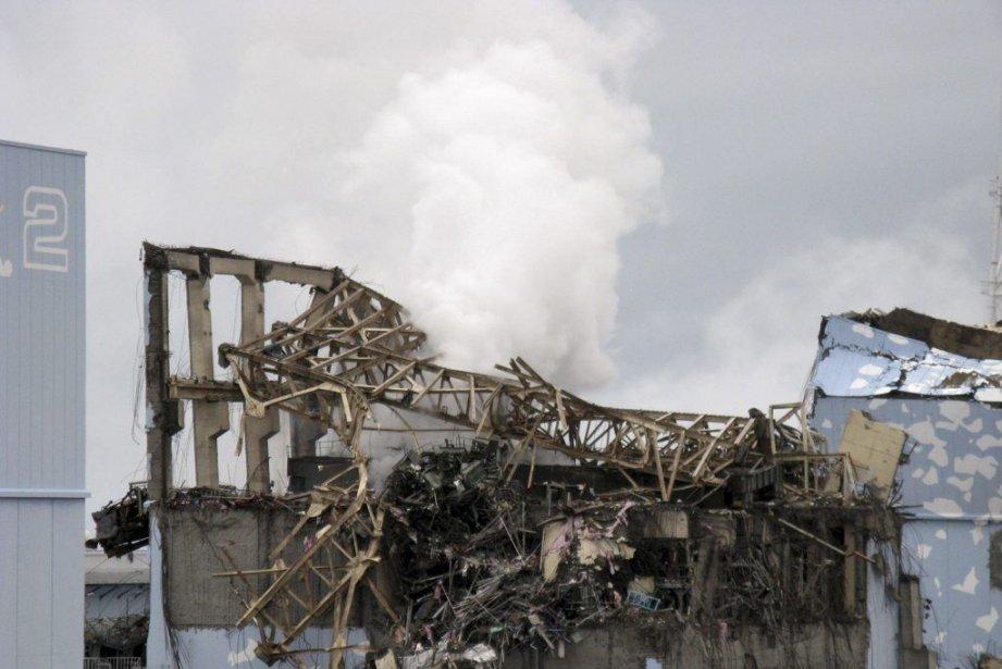 Une fuite de vapeur avait semé l'émoi en... (Photo archives AFP)