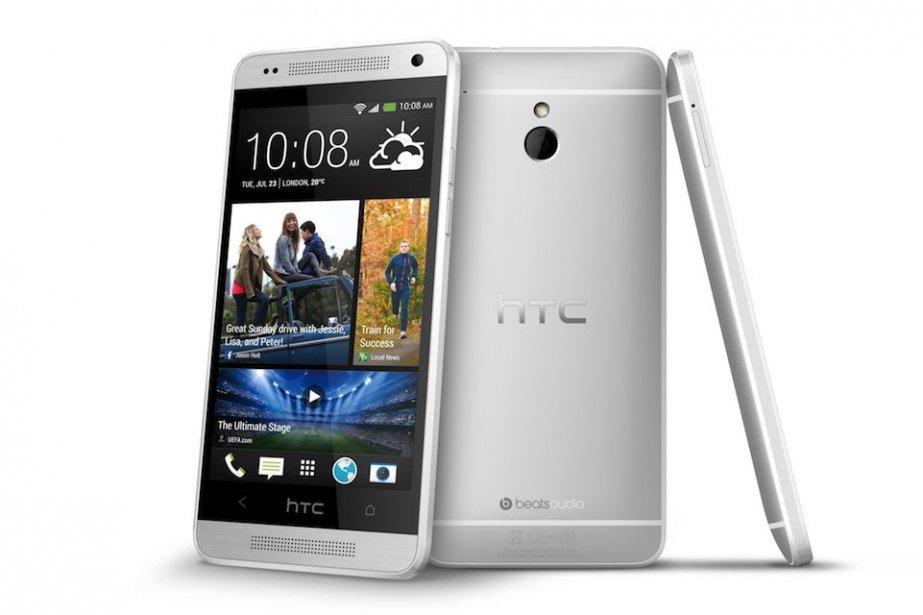 Fonctionnant sous Android, le One miniintègre toutes les... (Photo HTC)