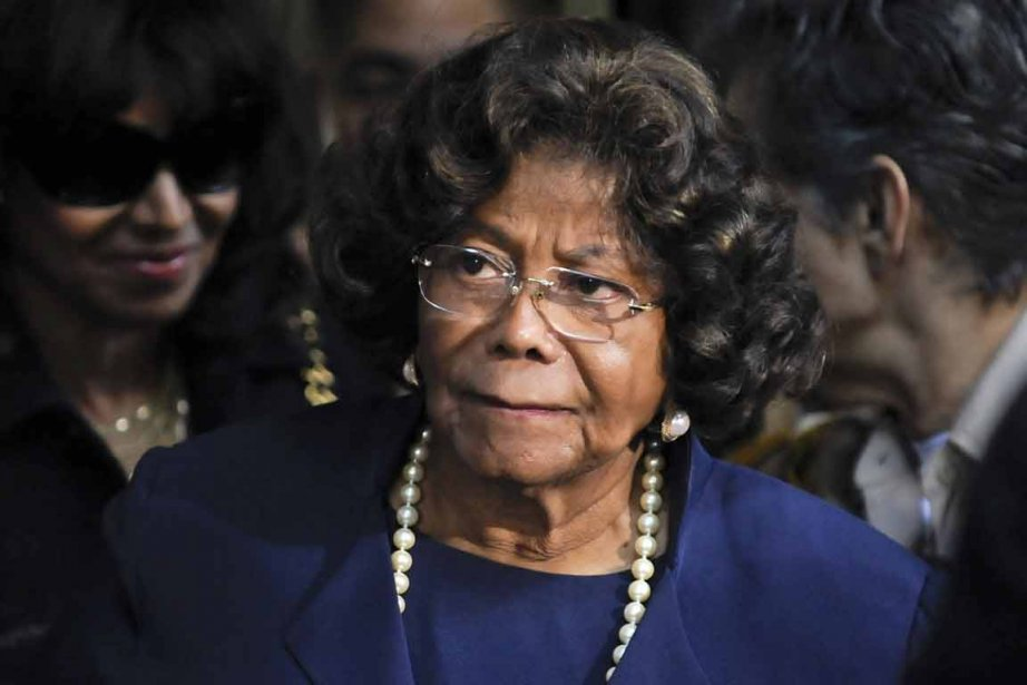 Katherine Jackson, 83 ans, a assisté à la... (PHOTO GUS RUELAS, REUTERS)