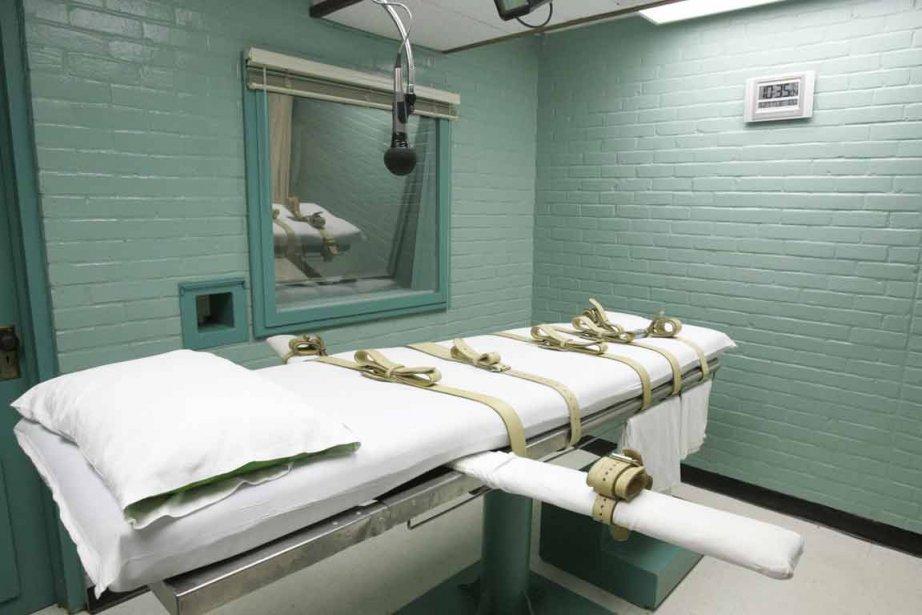 La pièce dans laquelle est pratiquée l'injection léthale... (PHOTO PAT SULLIVAN, AP ARCHIVES)