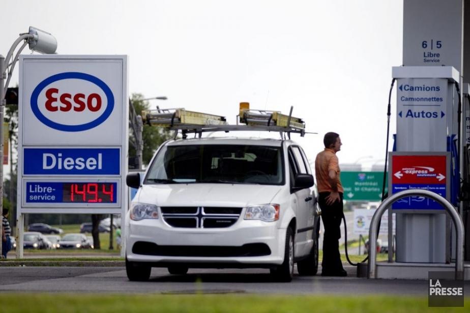 Le prix de l'essence a presque atteint 1,50$... (Photo Marco Campanozzi, La Presse)