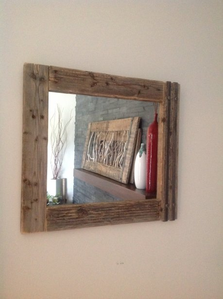 La collection recyc nature d 39 arima design toit et moi for Miroir bois de grange