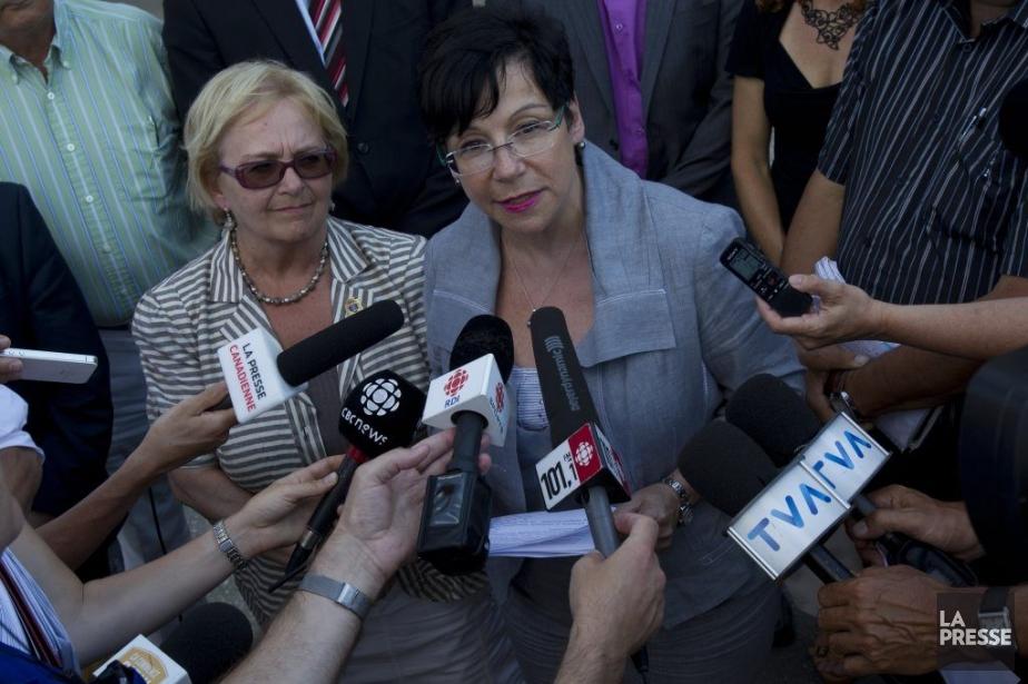Élaine Zakaïb, ministre déléguée à la Politique industrielle,... (PHOTO OLIVIER JEAN, LA PRESSE)