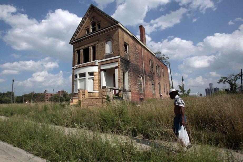La ville de Detroit a eu recours à... (PHOTO REBECCA COOK, REUTERS)
