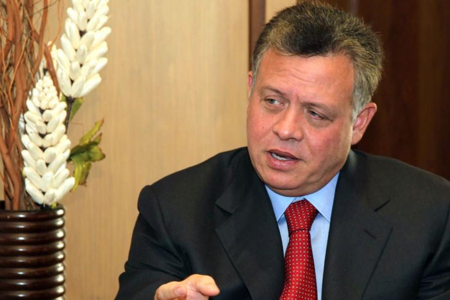 Le roi Abdallah II de Jordanie est le... (Photo AFP)