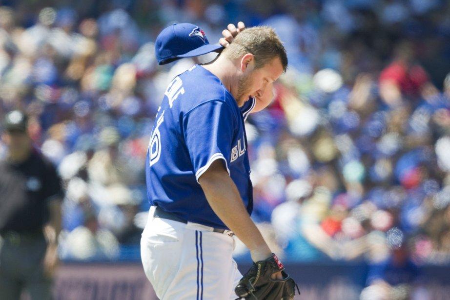 Le lanceur des Blue Jays Mark Buehrle.... (Photo Fred Thornhill, Reuters)