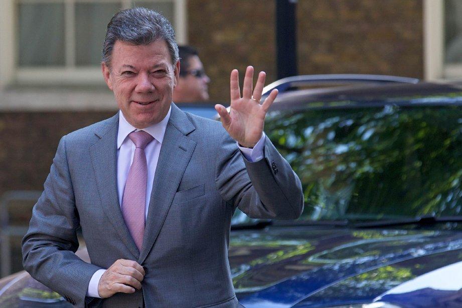 Le président colombienJuan Manuel Santos.... (PHOTO ANDREW COWIE, ARCHIVES AFP)
