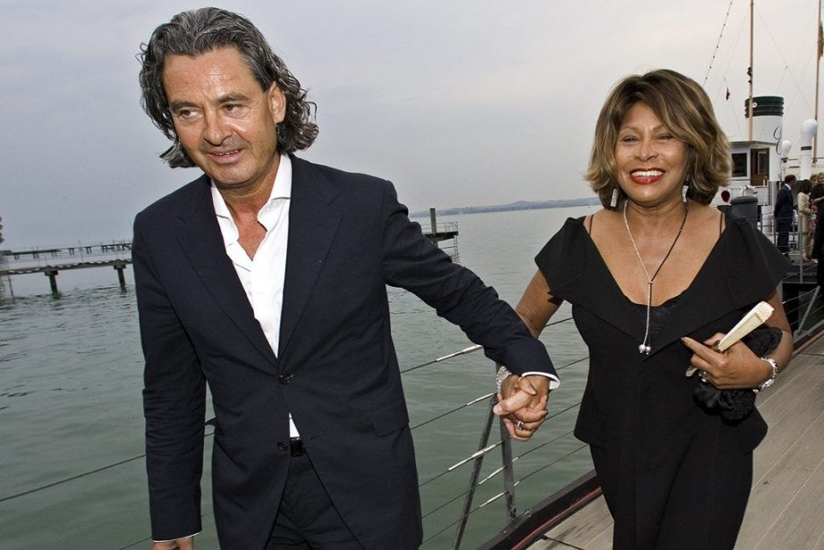 Tina Turner, 73 ans, et Erwin Bach, 57... (PHOTO MIRO KUZMANOVIC, ARCHIVES REUTERS)