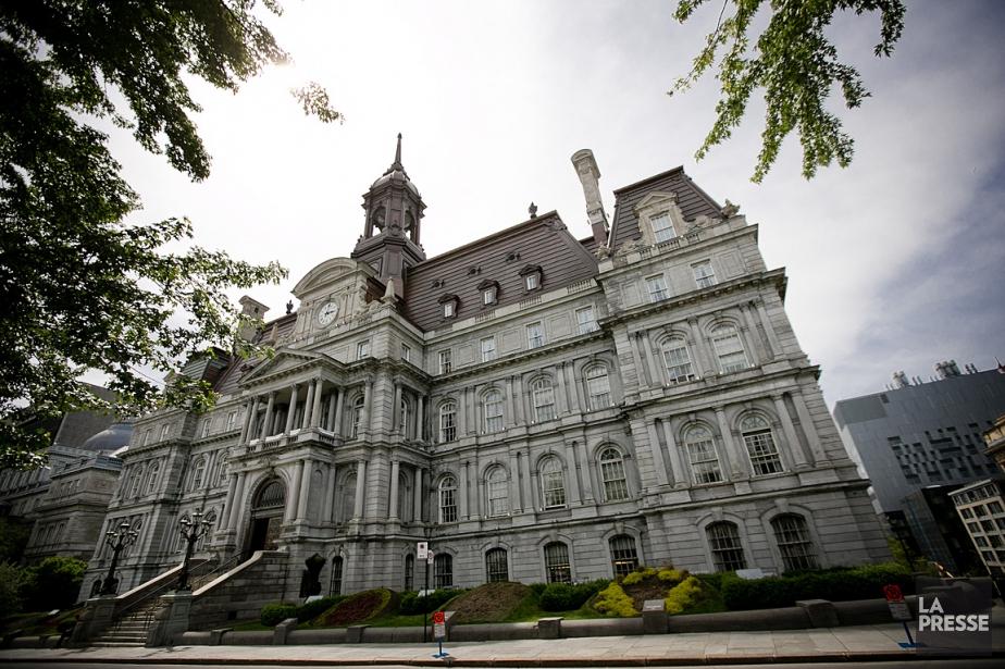 L'hôtel de ville de Montréal.... (Photo: Marco Campanozzi, archives La Presse)