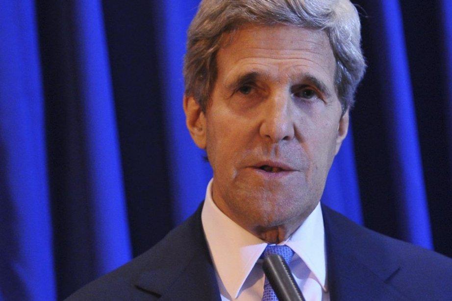 Le secrétaire d'État américain John Kerry.... (Photo: AFP)
