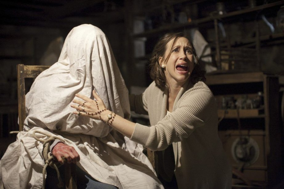 The Conjuring raconte l'histoire des Warren, un couple qui... (PHOTO FOURNIE PAR WARNER)