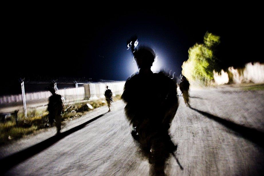 Les pays membres de la force de l'OTAN... (Photo Christoph Bangert, archives The New York Times)