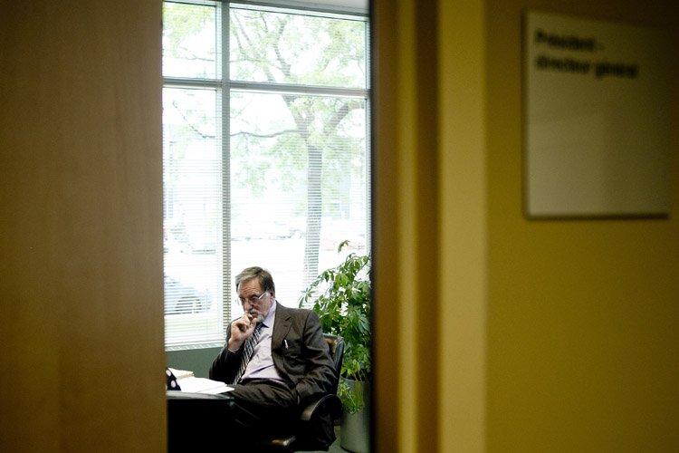 Le PDG de Laval Technopole, Pierre Desroches, faisait... (Photo: Marco Campanozzi, La Presse)
