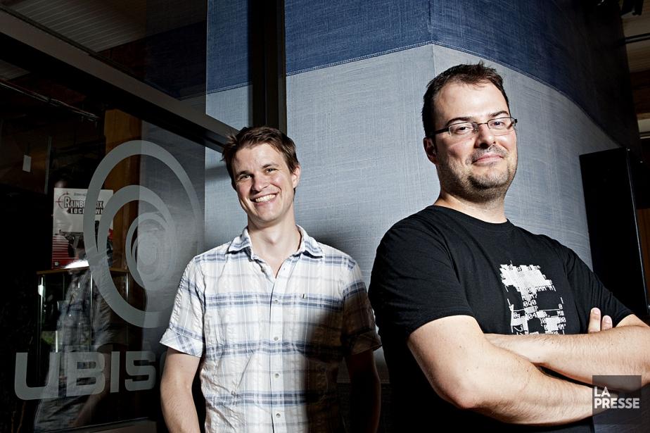 Dominic Guay et Jonathan Morin... (Photos: Anne Gauthier, La Presse)
