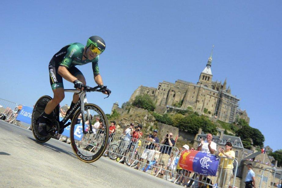 David Veilleux a fini son premier Tour de... (Photo : James Startt, Agence Zoom)