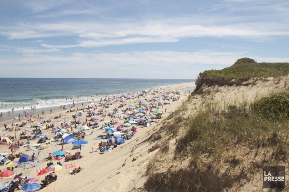 La célèbre plage de Cape Cod. | 22 juillet 2013