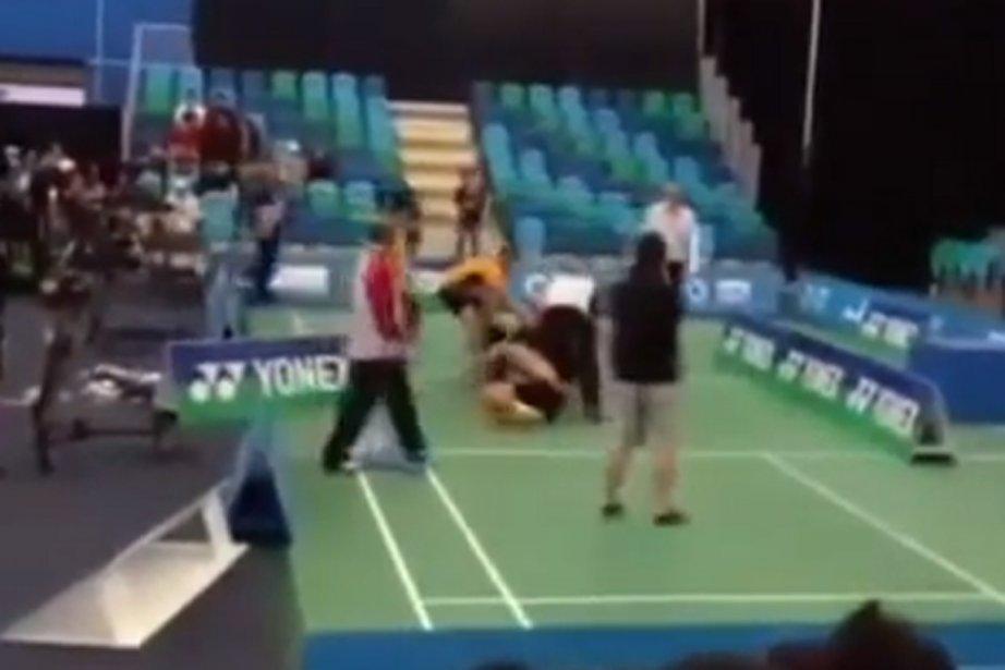 La Fédération internationale de badminton... (Photo tirée d'une vidéo Youtube)