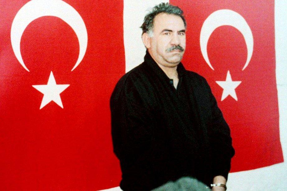 Le chef rebelle kurde emprisonné AbdullahÖcalan a demandé... (PHOTO ARCHIVES REUTERS)