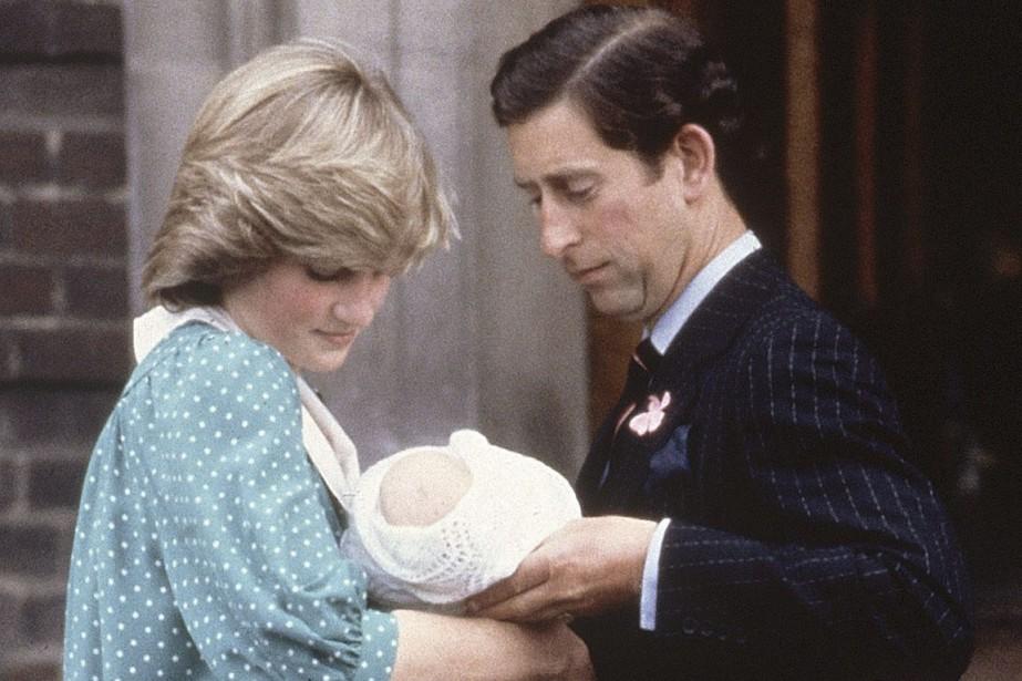 Le 22 juin 1982, la princesse Diana et... (PHOTO ARCHIVES AP)