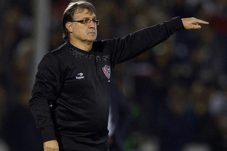 Âgé de 50 ans,Gerardo Martino a entraîné la... (Photo : Juan Mabromata, archives AFP)