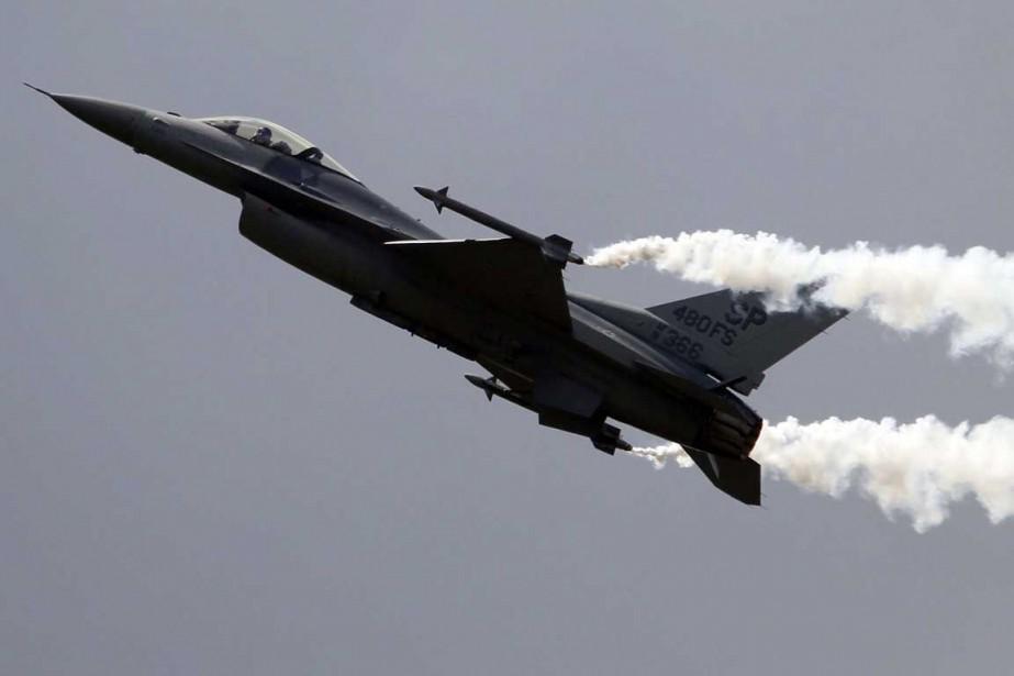 Un F-16 deLockheed Martin.... (Photo Associated Press)