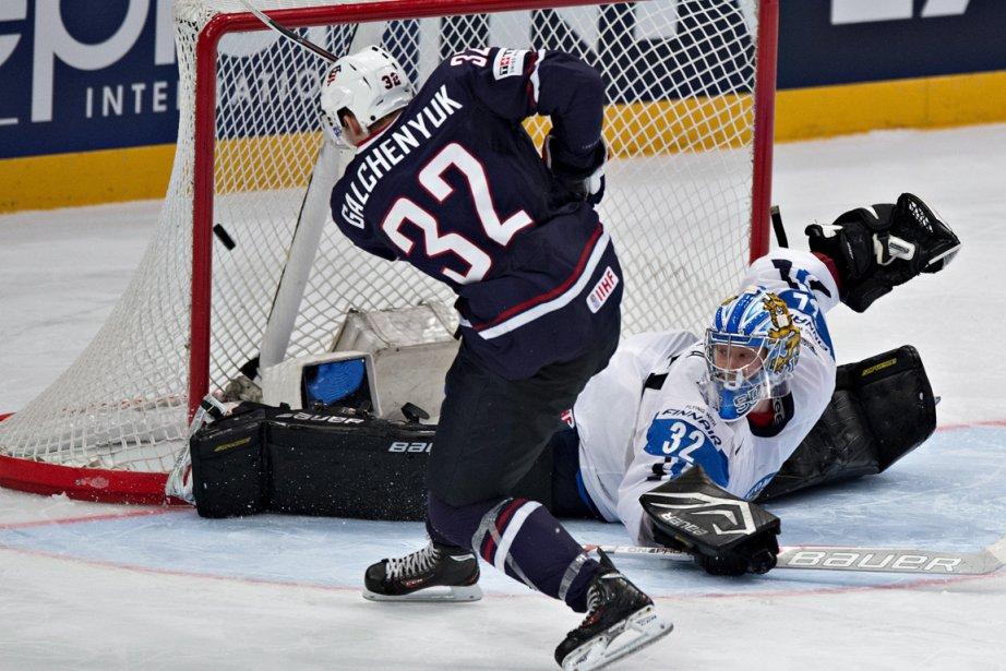 Alex Galchenyuk, du Canadien, a défendu les couleurs... (Photo : Jacques Boissinot, archives PC)