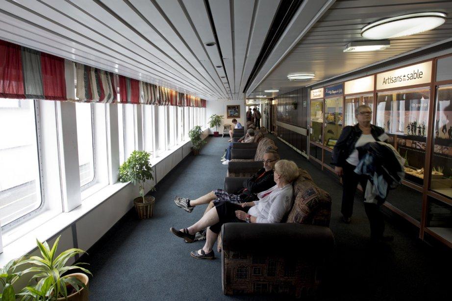 L'un des salons d'observation. (Photo Alain Roberge, La Presse)
