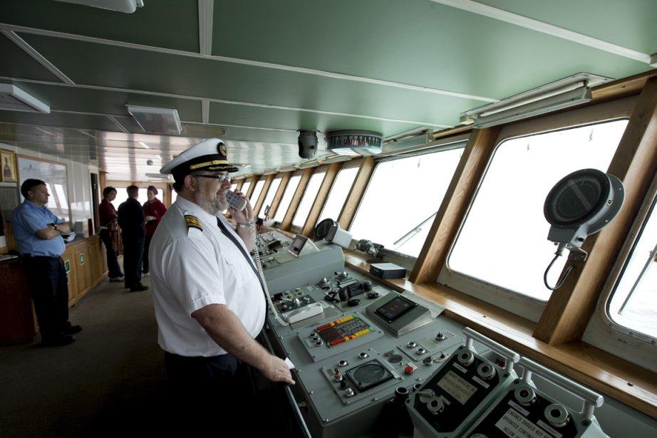 Le capitaine Bernard Langford est originaire de Havre-aux-Maisons. (Photo Alain Roberge, La Presse)