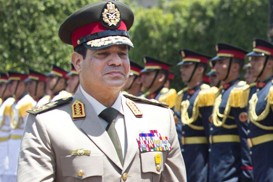 Le général Abdel Fattah Al-Sissi, nouvel homme fort... (Photo Jim Watson, archives associated press)