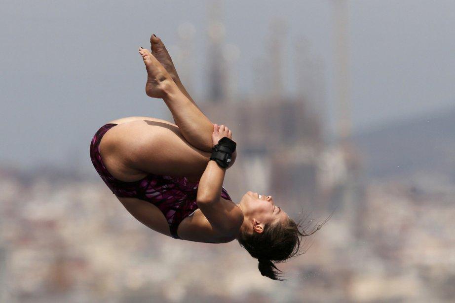 Roseline Filion a réalisé le quatrième score de... (Photo : Gustau Nacarino, Reuters)