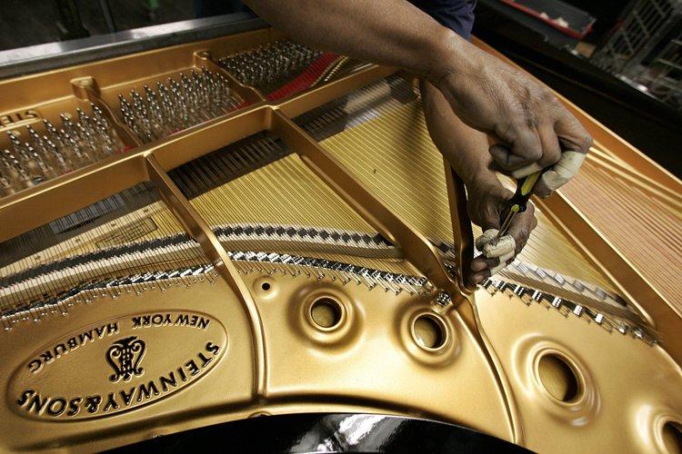 Un piano rare, qui avait été volé d'un hôpital du centre-ville... (Archives AFP)