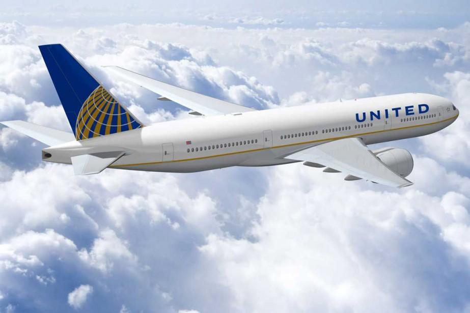 Le groupe américain de transport aérien United Continental... (Photo archives AP)