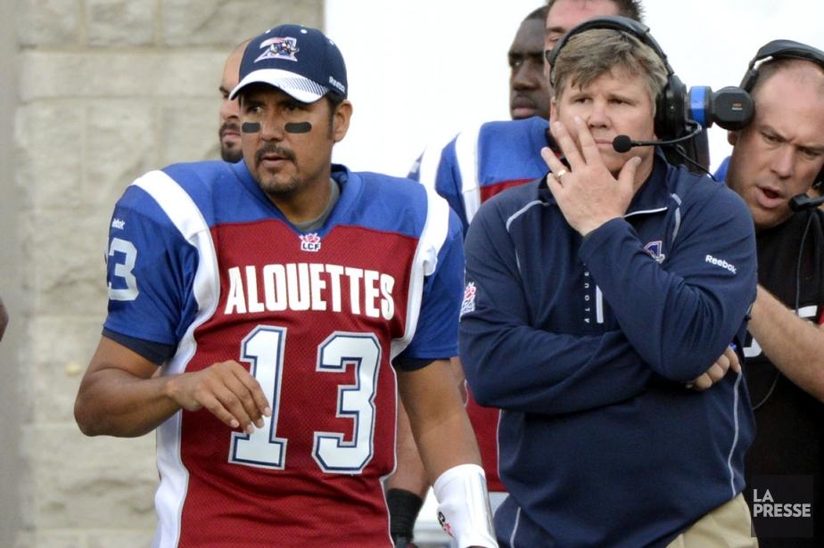 Le nouvel entraîneur-chef Dan Hawkins saura-t-il relancer son... (Photo : Bernard Brault, archives La Presse)