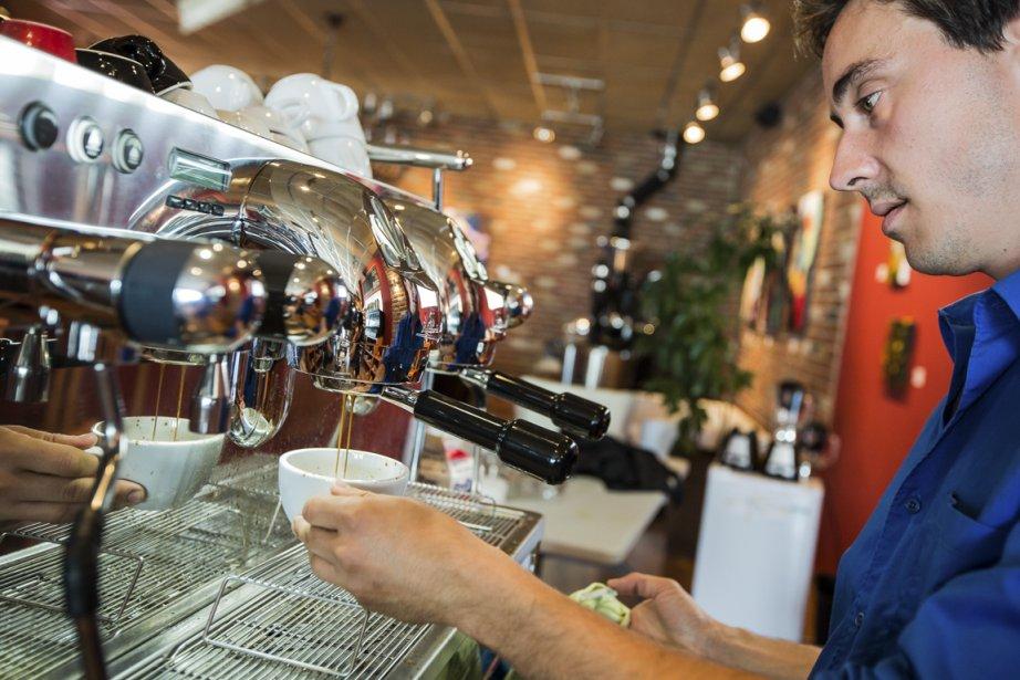 Café le Moussoneur (Photo Édouard Plante-Fréchette, La Presse)