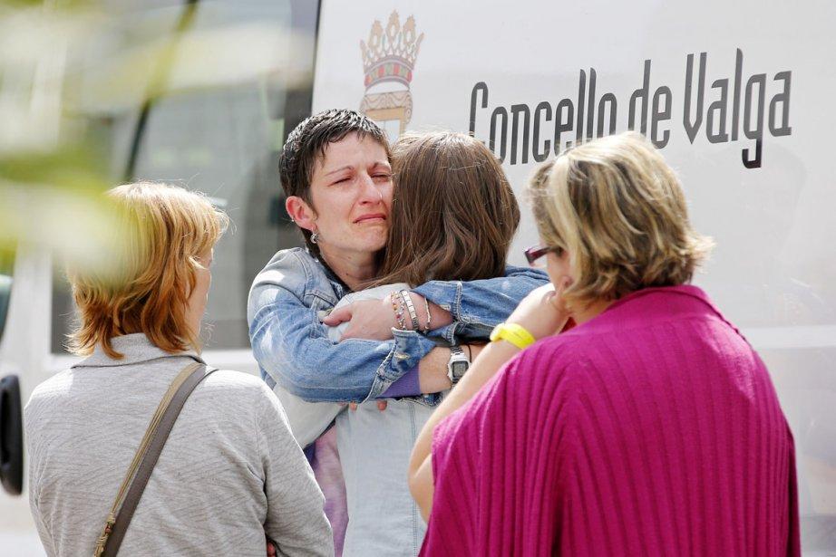 Un centre de coordination et d'information a été... (PHOTO CESAR MANSO, AFP)