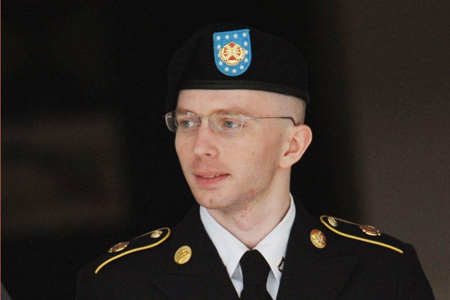 Bradley Manning est accusé de la plus grande... (PHOTO MANDEL NGAN, AFP)