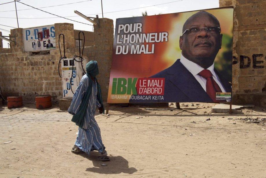 Le scrutin présidentiel, dont le premier tour est... (Photo Dorothee Thienot, AFP)