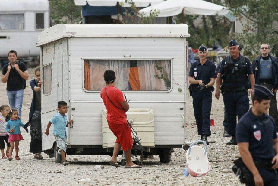 La problématique liée aux «gens du voyage» se... (Photo Robert Pratta, Archives Reuters)