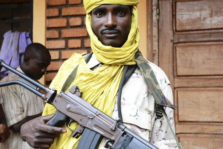 La coalition rebelle du Séléka a pris Bangui... (PHOTO XAVIER BOURGOIS, AFP)
