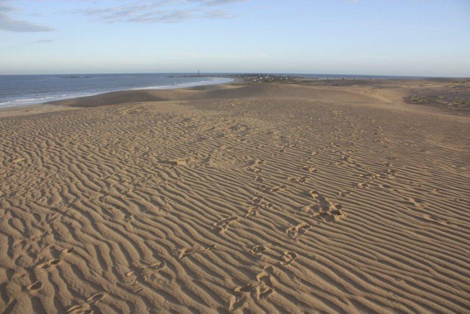 Les dunes de Cabo Polonio, Uruguay. | 29 juillet 2013