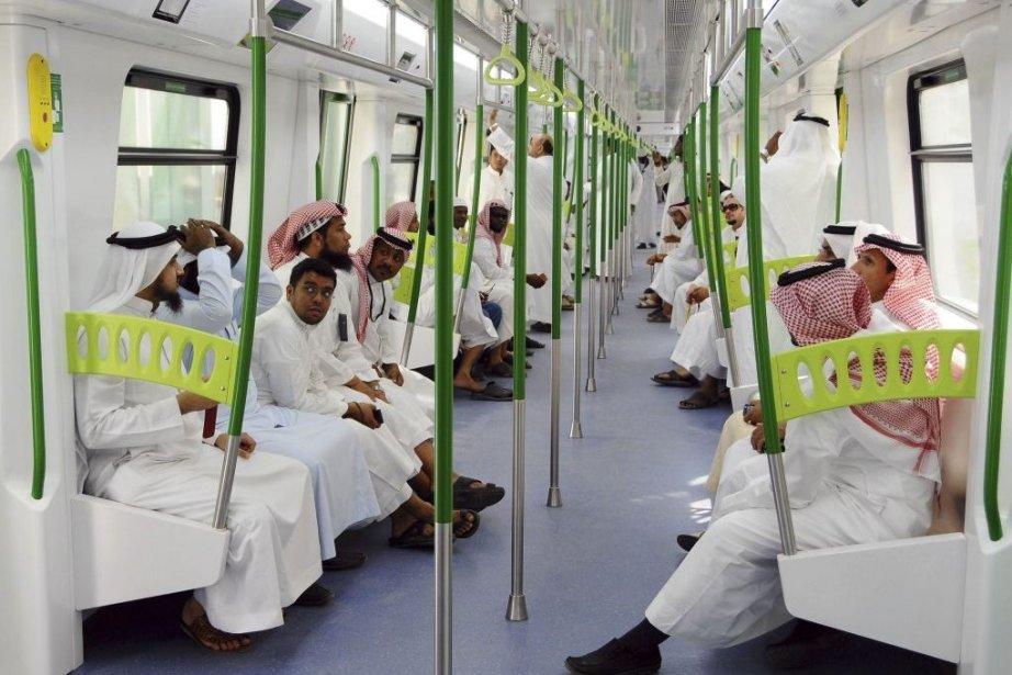 Le projet de métro de six lignes, prévu... (Photo AFP)