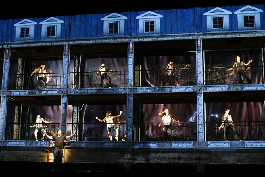L'espace scénique de La damnation de Faust est... (Photo: Yan Doublet, Le Soleil)