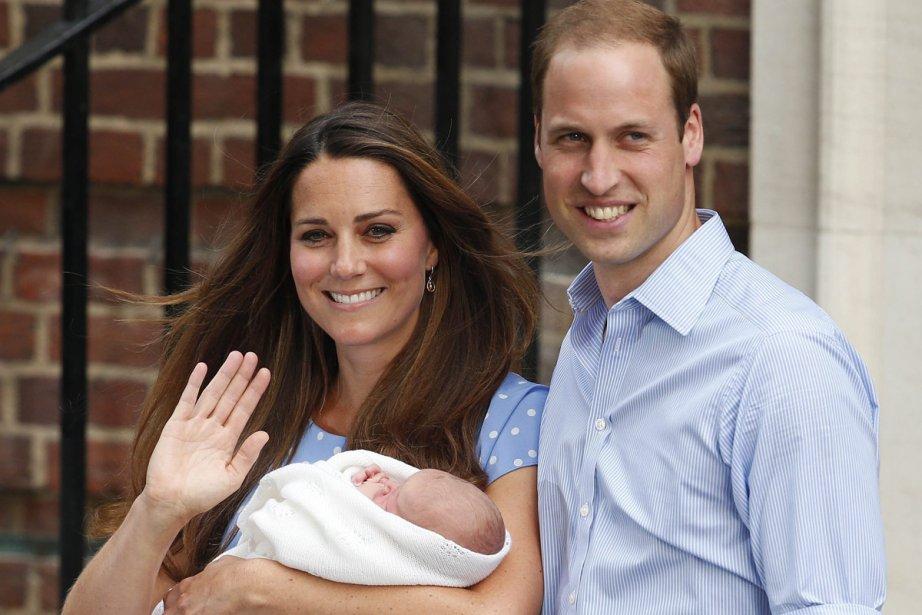 Le petit George de Kate et William est,... (Photo: AP)