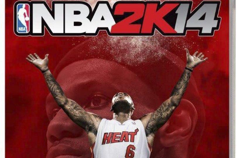 La photo de LeBron jamesfigure sur la jaquette... (PHOTO AP)